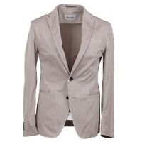 RODA Slim-Fit Washed Tan Stretch Cotton Blazer 38 (Eu 48) Sport Coat