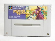 Super Famicom MONSTER MAKER III 3 Video Game Nintendo Cartridge Only sfc