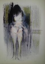 Lithography lithographie Litografia GIUSEPPE AJMONE Nudo di donna 50X70 85/99