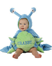 Morris Costumes Boys Crabby Toddler 6/12Months. PP4630TS