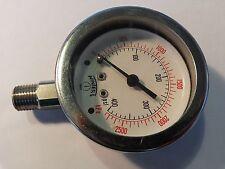 Winters # P880 0-400 PSI SS Pressure Gauges, 6685-00-431-9582 lot of 5 pcs