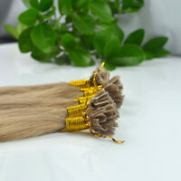 """1g/s 20"""" Remy Pre Bonded 100% Human Hair Extension Straight Fusion Hair Style"""