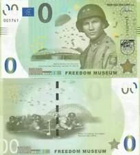 Biljet billet zero 0 Euro Memo - Freedom Museum (046)