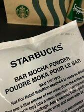 STARBUCKS Mocha Powder ~ NEW & SEALED ~ 3.9 lb bag ~ FRESH ~  BB 03/19/22