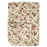 Amazing Beautiful Reversible Patchwork Quilt With Flowers by Ib Laursen