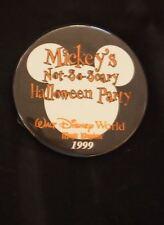 Wdw Disney Mickey's Not-So-Scary Halloween Party 1999 Pin Button Magic Kingdom