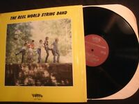 The Reel World String Band - S/T - 1980 Vinyl 12'' Lp./ Christian Folk Rock