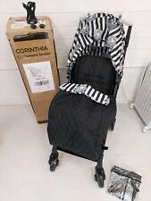 Your Babiie Monochrome Black Leopard Lightweight Stroller NEW
