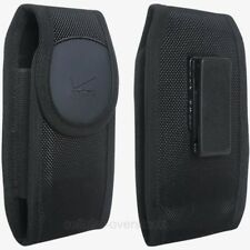 Verizon Rugged Nylon Protective Case for Universal Cell Phones Up to 5.5 - Black