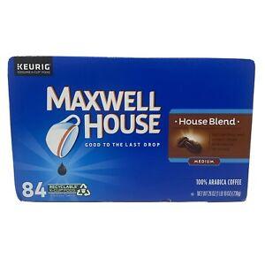 Maxwell House Medium Roast House Blend Coffee K-Cups, (84 count)