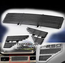 2008-2010 FORD SUPER DUTY F250 F350 BUMPER+FENDER SIDE VENT BILLET GRILLE INSERT