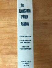 The Foundation Trilogy Isaac Asimov Doubleday FIRST EDITION 1951 Science Fiction
