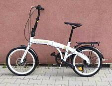 Folding Bike Bicycle Disk 6 Gear Carrier 20' Alloy Unisex UK RRP£399 White ukG1