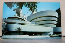 New York NY NYC Guggenheim Art Museum Postcard Old Vintage Card View Standard PC