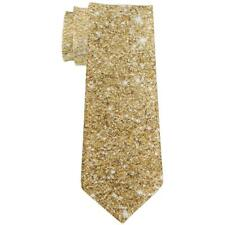 Faux Gold Glitter All Over Neck Tie
