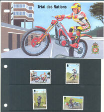 Isle of Man motorcycles-team prove serie e pres.pack MNH -1997