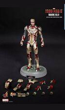 Hot toys Iron Man 3 Mark XLII 42 diecast Figure- NEW SEALED MMS197-D02