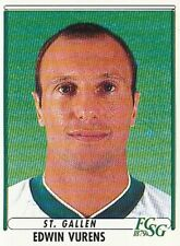 190 EDWIN VURENS # NETHERLANDS FC.ST.GALLEN STICKER PANINI FOOTBALL 99