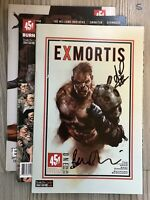 Exmortis #1 - #3 Includes #1 Variant Double signed