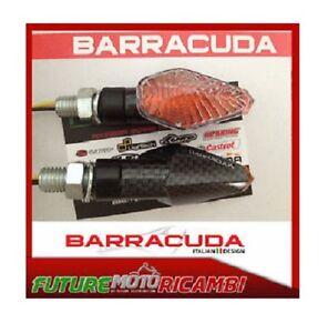 BARRACUDA Indicators Homologated Mini Viper Carbon Look Short Aprilia Tuono V4
