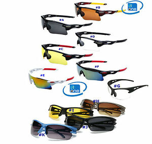 Outdoor Sports Cycling Bike Jogging Fishing Goggles Sunglasses UV-400 Protection
