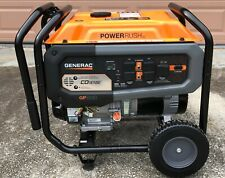 Generac GP6500 COSENSE portable generator, 2020 model