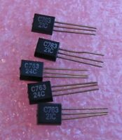 2SC763 C763 NPN Silicon Small Signal Transistor Si  - NOS Qty 5