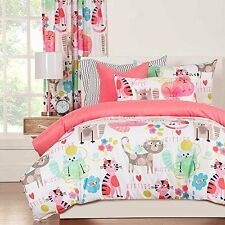 SIS Enterprises Inc Purrty Cat Three Piece Full/Queen Comforter Set  NEW