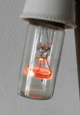 Alte Glimmlampe E27  220 V Glühbirne !