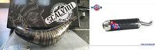 SCALVINI MARMITTA SCARICO ESPANSIONE COMPLETO KTM EXC 125 144 2013-2014 CARB/INO