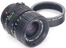 CANON FD 35-70mm 3.5-4.5 + Capucha BW-58C