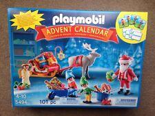 Playmobil 5494 Christmas Advent Calendar Santas Workshop New Sealed Xmas Toy Fun