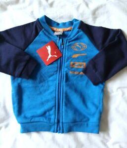 Boys Puma Fleece Jacket 9 - 12 months