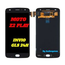 DISPLAY LCD+ TOUCH SCREEN per MOTOROLA MOTO Z2 PLAY XT1710 NERO VETRO NUOVO