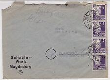 SBZ, Mi. 213 MeF, (19b) Magdeburg, 15.6.50