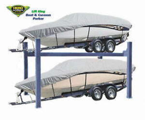 4-Post Portable 4.0T Extra Wide Boat, Trailer & Caravan Parking Lift / Car Hoist
