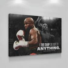 Floyd Mayweather Box Legends Motivation Poster 36*24 inches