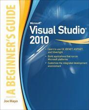 Microsoft Visual Studio 2010: A Beginner's Guide (Paperback or Softback)
