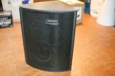 Optimus 40-4055 3-Way Triangle Reflecting Satellite Speaker System (only one)