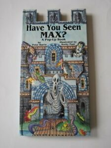 Have You Seen Max?: A Pop-up Book by Harris, Peter Hardback Book The Cheap Fast