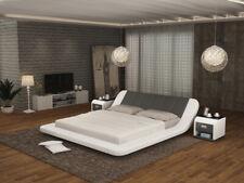 Leder Bett mit USB,Polster Betten Luxus Doppel Modernes Ehe 140/160/180 LB8826