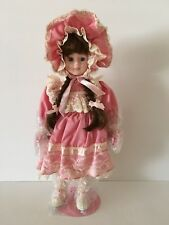 Katrina Porcelain Collectors Doll With Certificate of Authenticity