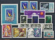 LL93685 Russia CCCP astronauts space fine lot MNH