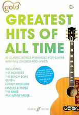 Gold Greatest Hits of All Time Chord Songbook Guitar Tab Lyrics Sheet Music B23