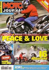 MOTO JOURNAL 1478 Essai Test YAMAHA BT 1100 Bulldog XJR 1300 SP SUZUKI GSX 1400