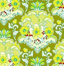 Heather Bailey Pop Garden Pineapple Brocade in Celery HB08 Fabric 1y 100% Cotton