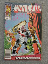 "Micronauts ""Acroyear Vol. 2 No. 18 March 1986 Marvel Comics"