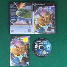 (PS2) STAR WARS STARFIGHTER (ITA 2001) PlayStation 2 LucasArts Gioco Game