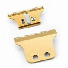 Wahl Replacement Detailer Extra Double T Wide Blade Set Trimmer Blade Gold Color