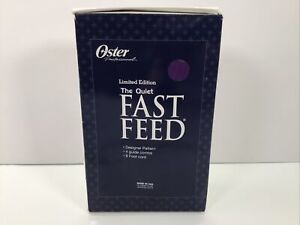 Oster, The Quiet Fast Feed (Limited Edition), w/ 4 guide combs, 8 foot cord